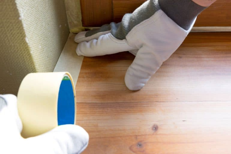 Paint shield vs. masking tape: How do they compare?