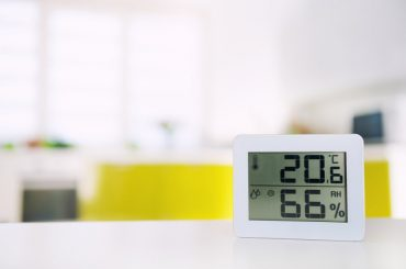 What is the ideal humidity in a house?