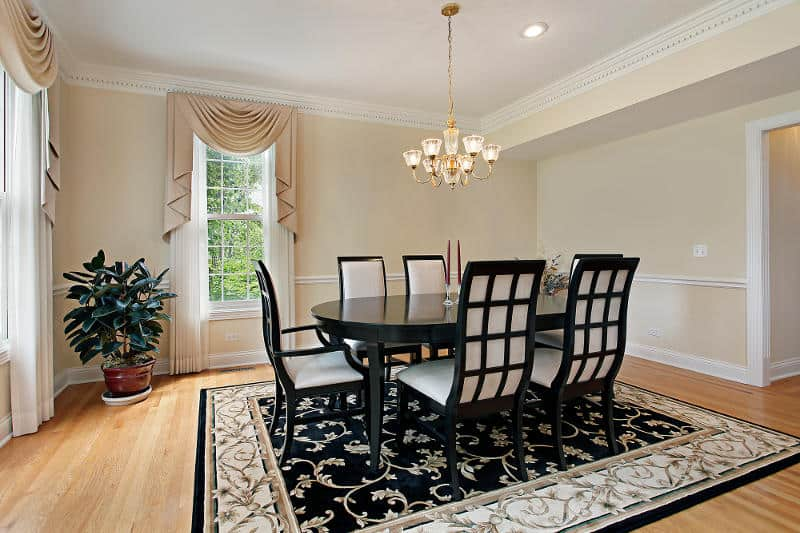 Dining room is a formal eating area. They are also display as well as storage units.