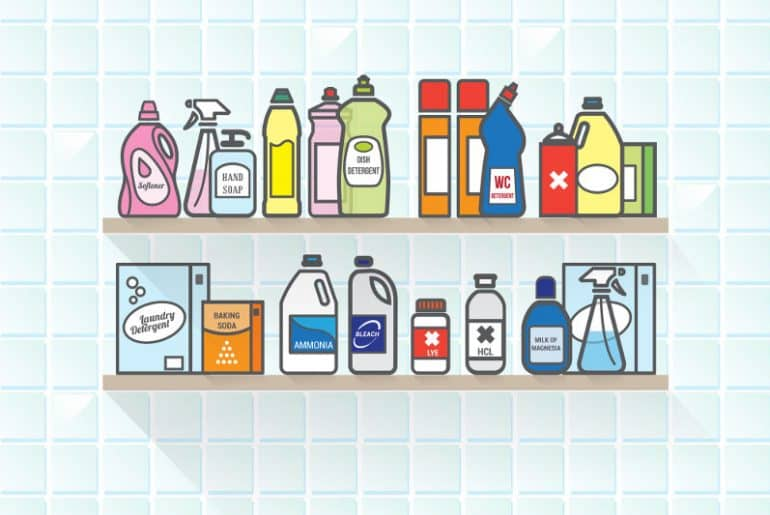 Can you mix bleach and baking soda? Does the mix work for cleaning?