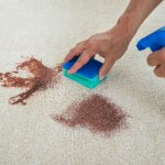 Home remedies for cleaning carpets. DIY carpet cleaning solutions.