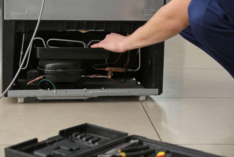 How to make a noisy fridge quieter?
