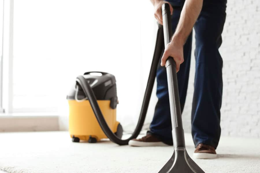 How to use a shop vac (dry-wet vac) to vacuum water.