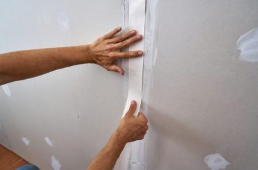 Common problems with drywall tape.