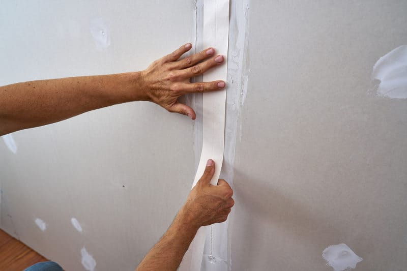 Fix Issues With Drywall Tape After Painting