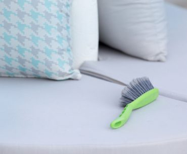 How to clean outdoor cushions and fabric furniture.