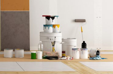 What are the different types of paint (indoor and outdoor).