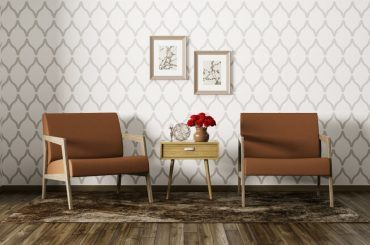 What color walls go well with brown furniture.