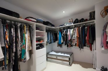 What are the standard closet dimensions. What of closet to build.