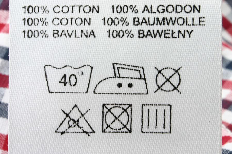100% cotton clothes are more likely to shrink in the washer and dryer than clothes made with synthetic fibers.