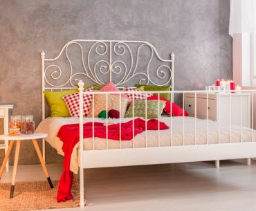 How to stop metal beds from squeaking. How to fix a squeaky metal bed frame.