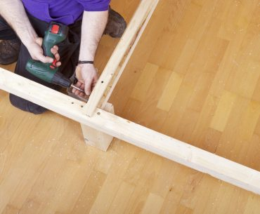 How to fix a broken bed frame. Dealing with cracks and support issues.