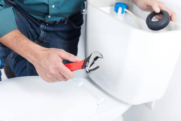 Why a toilet starts gurgling and how to fix the problem.