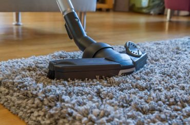How to clean rubber backed rugs.