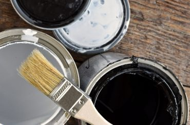 Using latex paint over an oil-based primer.