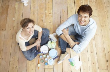 What are the advantages and disadvantages of painting wood floors.