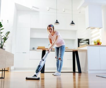 Why your floors are sticky after mopping and how to clean them with a steam cleaner.