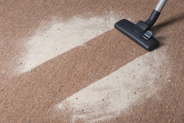 Should you vacuum or dust first?