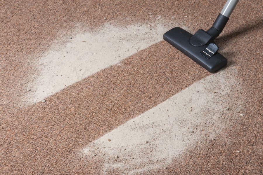 Vacuum dust to prevent allergies