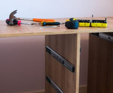 Fixing a drawer that falls out. How to fix metal and wooden drawer slides.