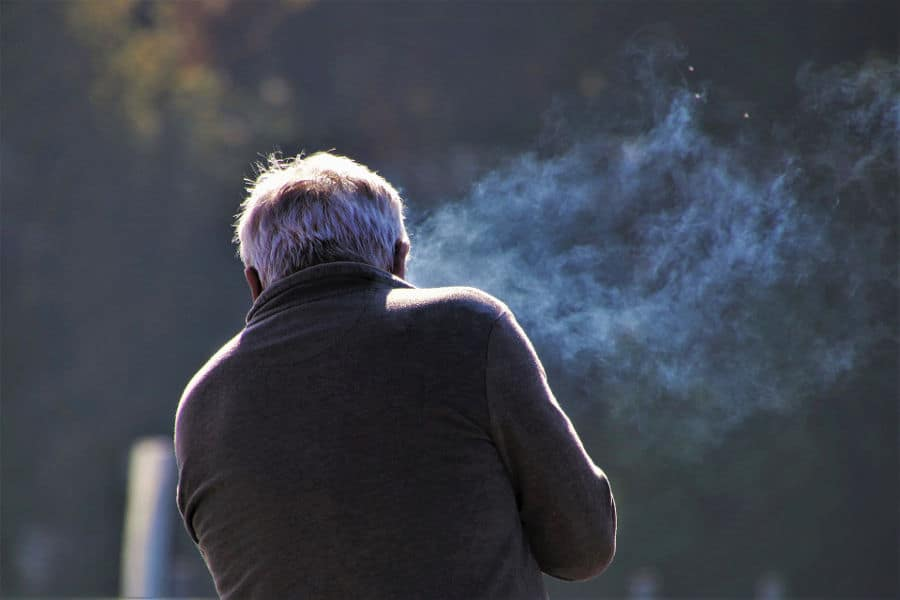 What causes the cigarette smell in the house when no one smokes.