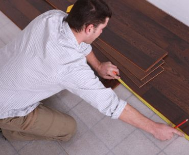 How to install laminate floor over tile.