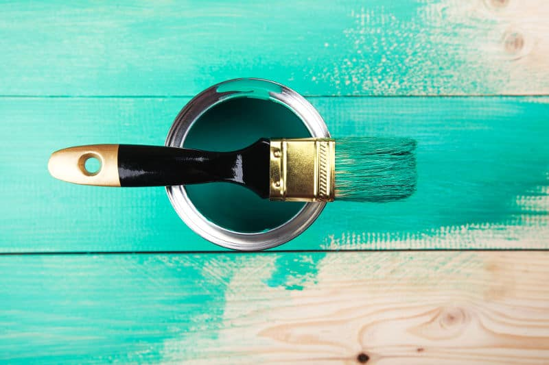 Paint - When to use it and a comparison with wood stain and varnish.