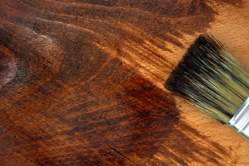 Wood stain - What it is and when to use it.