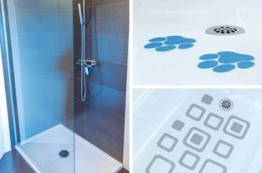 Best anti-slip shower stickers.