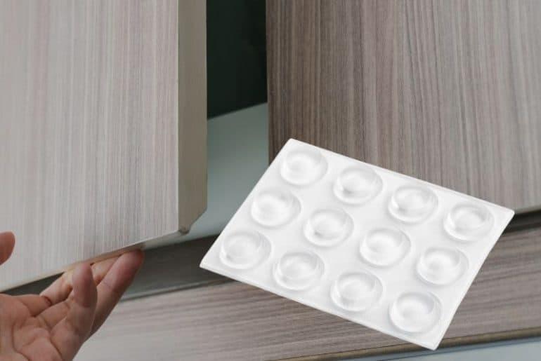 Best cabinet door bumpers that dampen the sound of closing doors.