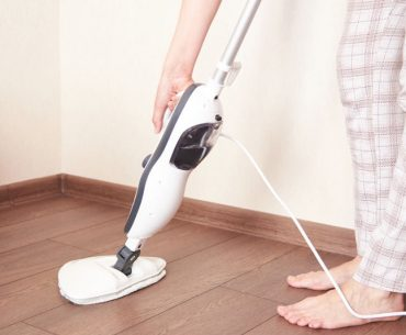 Using a steam mop on vinyl flooring
