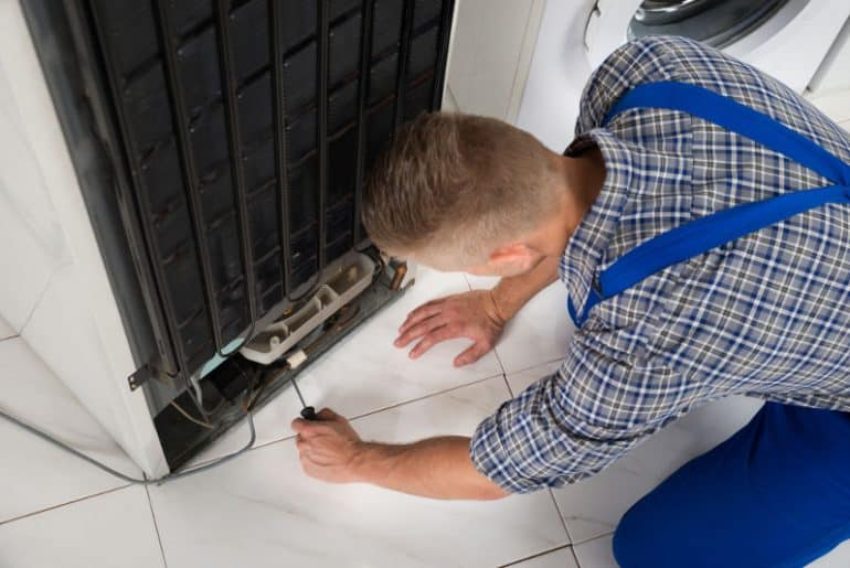 How to fix a fridge that is leaking water.