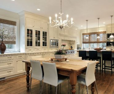 What is the best color light for your kitchen. Kitchen with different lighting features.