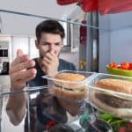 Getting rid of bad smells in the fridge.