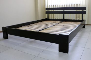 How to stabilize a wooden bed frame.