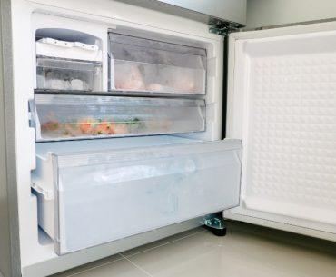 Someone has left the freezer door open overnight.