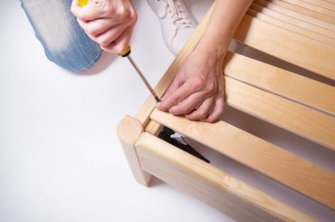 The best wood to use for bed slats.